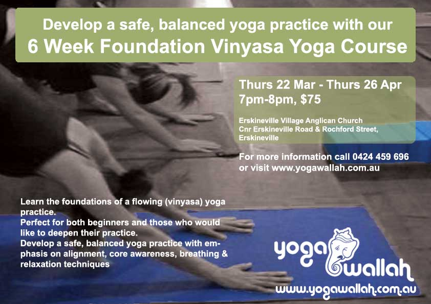 Yoga Foundation Course March 2012 image