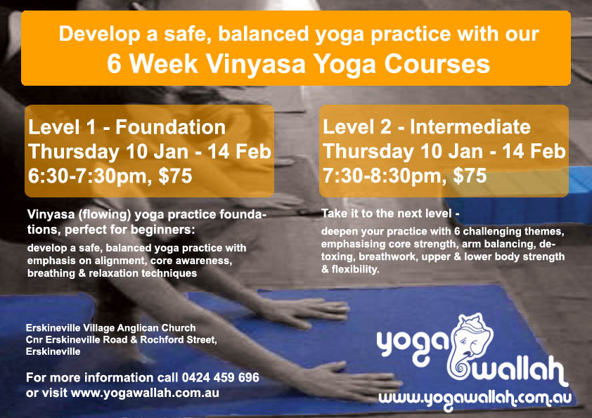 dynamic yoga courses